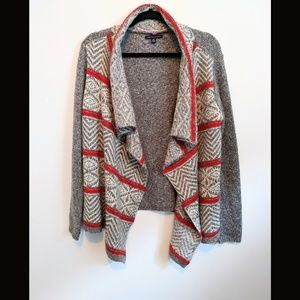 American Eagle Outfitters open front sweater